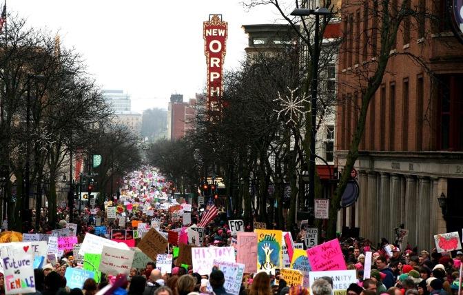 Womens Rally Still Divided