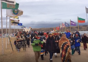 women of standing rock