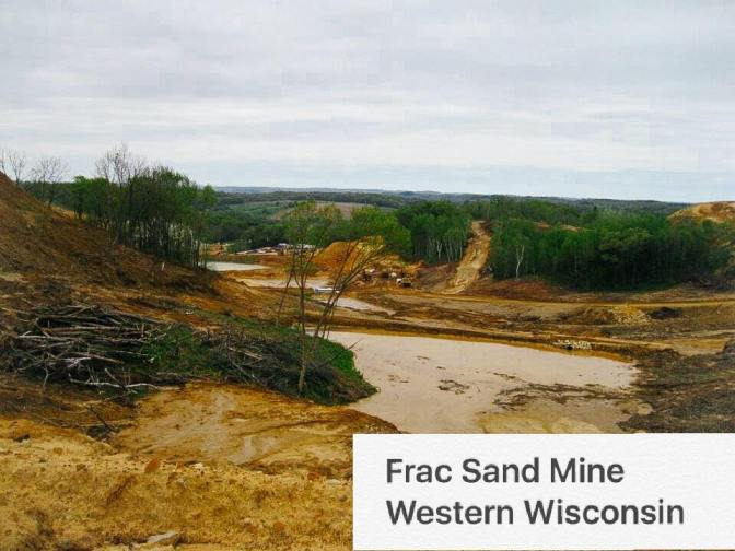 People Over Frac Sand Mines