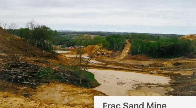 People Over Frac Sand Mines